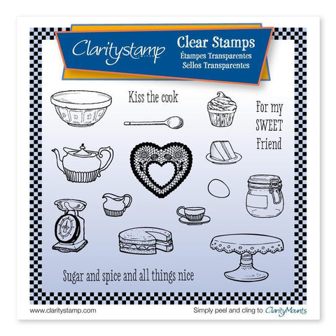 Kitchen <br/>Unmounted Clear Stamp Set