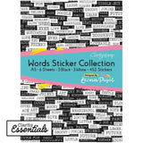 Leonie's Words Sticker Collection