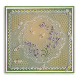 Linda's Bumble Bees <br/>A5 Square Groovi Plate