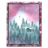 Cabin In The Woods <br/>Unmounted Clear Stamp Set