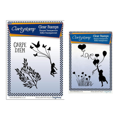 Love is in the Air & Flutterfly Carpe Diem Stamp Sets