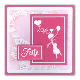 Word Chain 6 <br/>Unmounted Clear Stamp Set