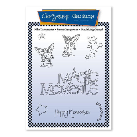 Mel's Magic Moments A6 Unmounted Stamp Set