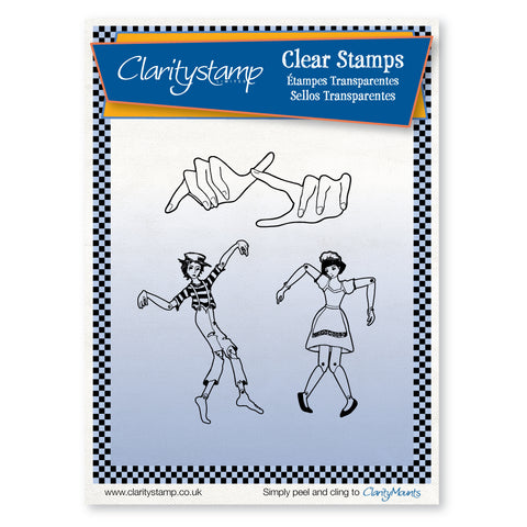 Marionettes <br/>Unmounted Clear Stamp Set