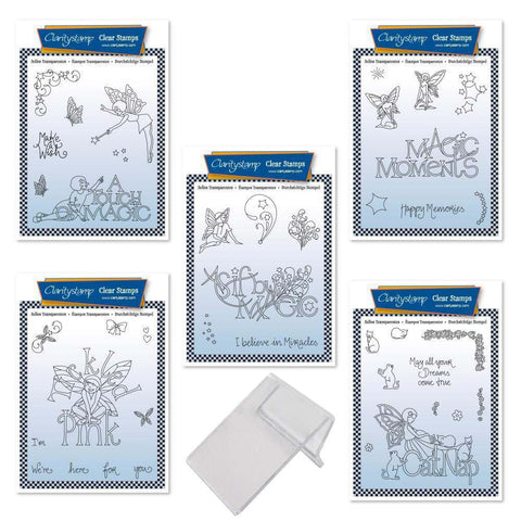 Mel's Magic Moments A6 Stamp Collection & XL Mount
