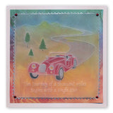 Vintage Cars <br/>A6 Groovi Plate <br/>(Set GRO-TV-40687-02)
