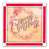 Merry Christmas Sentiments <br/>Unmounted Clear Stamp Set