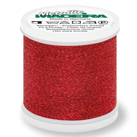 Madeira Metallic Ruby Embroidery Thread