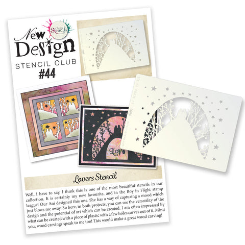 New Design Stencil Club Back Issue - 44