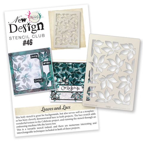New Design Stencil Club Back Issue - 46