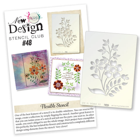 New Design Stencil Club Back Issue - 48