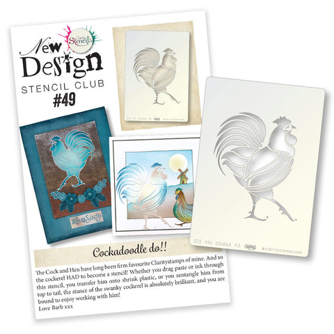 New Design Stencil Club Back Issue - 49