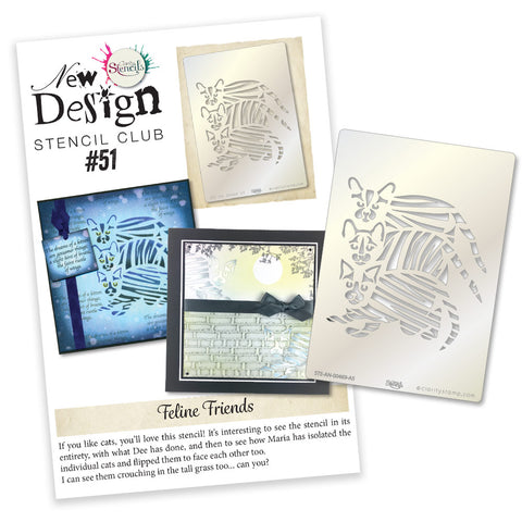 New Design Stencil Club Back Issue - 51