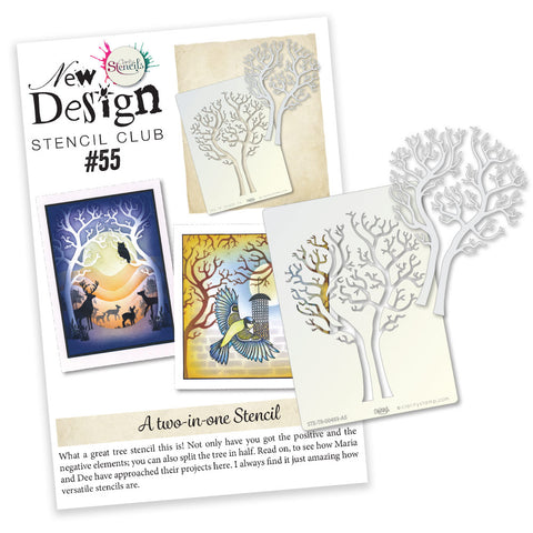 New Design Stencil Club Back Issue - 55