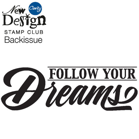 New Design Stamp Club Back Issue 106 - Follow Your Dreams