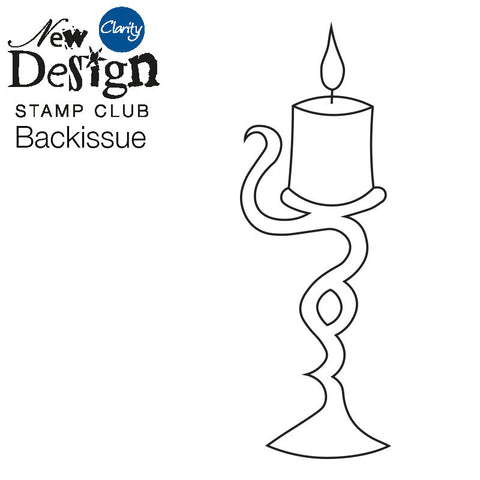 New Design Stamp Club Back Issue 107 - Candle
