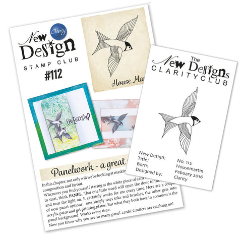 New Design Stamp Club Back Issue 112 - Housemartin