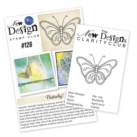New Design Stamp Club Back Issue 126 - Butterfly