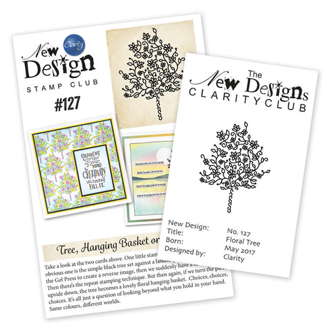 New Design Stamp Club Back Issue 127 - Floral Tree