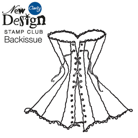 New Design Stamp Club Back Issue 20 - Corset