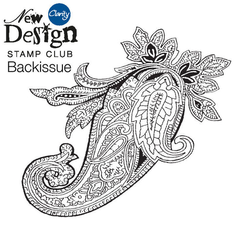 New Design Stamp Club Back Issue 24 - Paisley