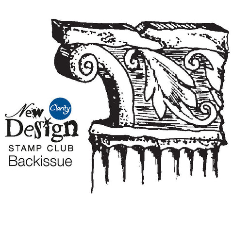 New Design Stamp Club Back Issue 30 - Cornice