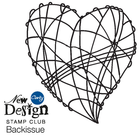 New Design Stamp Club Back Issue 52 - Wire Heart