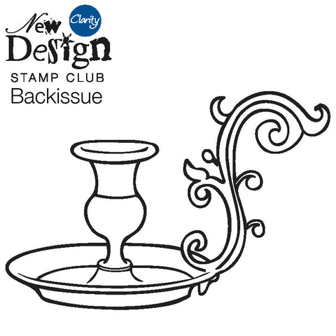 New Design Stamp Club Back Issue 56 - Candlestick Holder