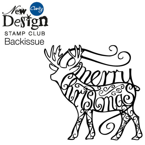 New Design Stamp Club Back Issue 62 - Christmas Stag