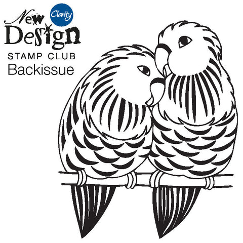 New Design Stamp Club Back Issue 80 - Lovebirds