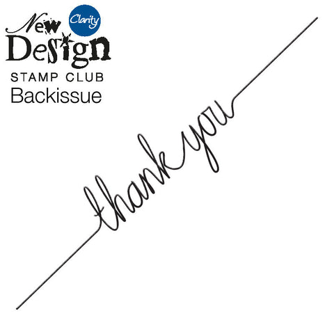 New Design Stamp Club Back Issue 81 - Thank You