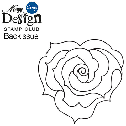 New Design Stamp Club Back Issue 84 - Rose