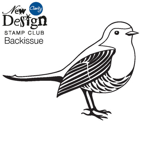 New Design Stamp Club Back Issue 86 - Robin