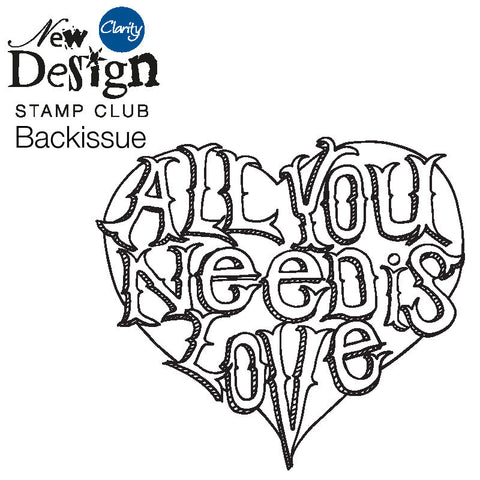 New Design Stamp Club Back Issue 88 - All You Need Is Love