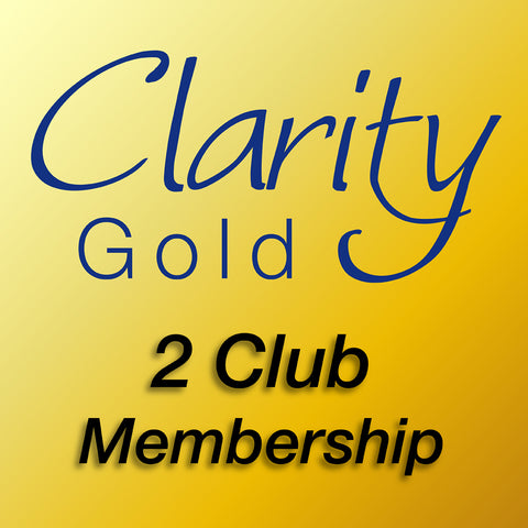 Clarity Craft Gold Club - 12 Month Subscription