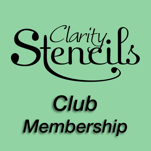 New Designs Stencil Club - 12 Month Subscription