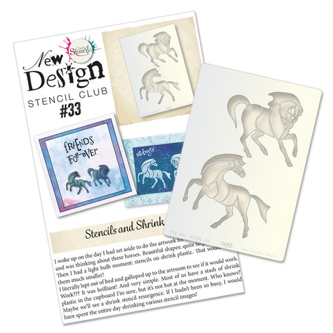 New Design Back Issue 33 - Pair of Horses