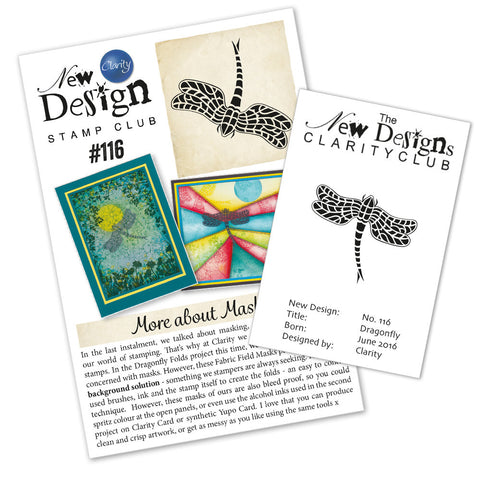 New Design Stamp Club Back Issue 116 - Dragonfly
