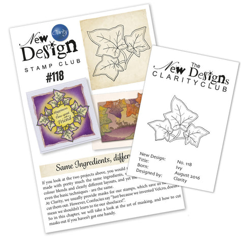 New Design Stamp Club Back Issue 118 - Ivy