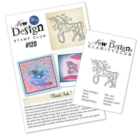 New Design Stamp Club Back Issue 120 - Unicorn