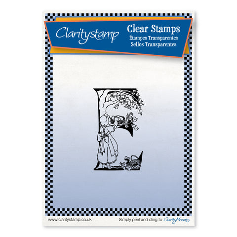 Nursery Rhyme 'E' <br/>Umounted Clear Stamp