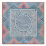 Nested Scallops Circle & Square <br/>Groovi Plate Set