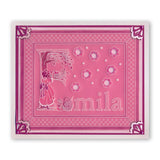 Barbara's Nursery Rhyme Alphabet <br/>A6 Square Groovi Baby Plate Set <br/>+ Rhyme-Time ii Book, Poster & Groovi Baby Folder