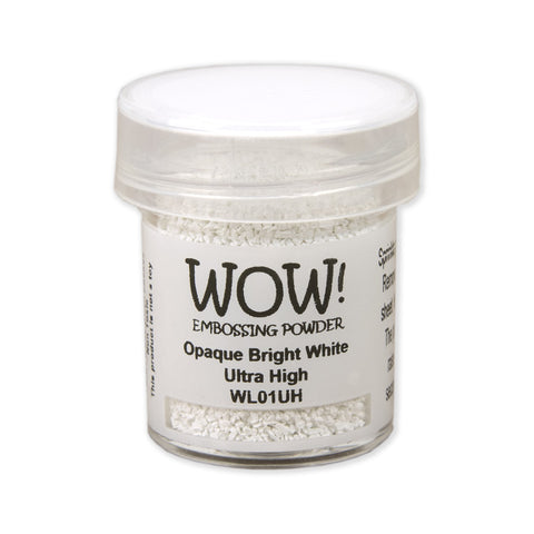 Embossing Powder Ultra High 15ml - Opaque Bright White