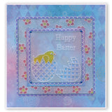 Easter Banners <br/>Groovi Plate A5 Square <br/>(Set GRO-EA-40572-03)