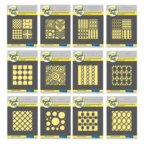 Pattern Overlay - Aperture Collection <br/>Clarity Fresh Cut Die Set