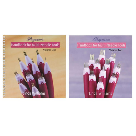 Pergamano Handbook for Multi-Needle Tools Volume One & Two Bundle by Linda Williams