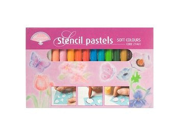 Stencil Pastels Soft Colours (21461)