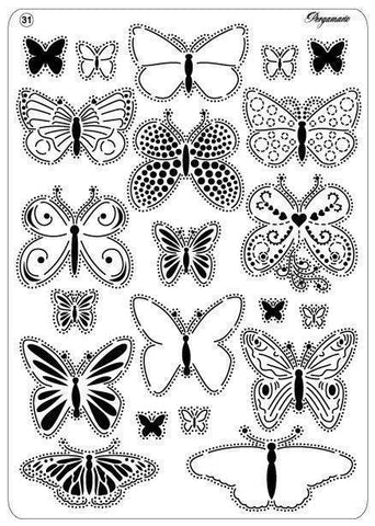 Multi Grid 31 Butterflies 2 (31440)