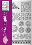 Multigrid 48 Floral Ornaments 2 (31478)